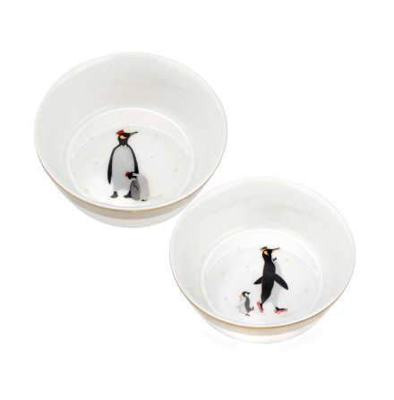Sara Miller London Penguin Skål 10cm 2-pack