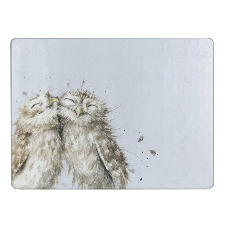 Wrendale Designs Worktop Saver Owl 30 x 40cm