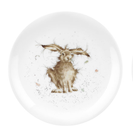 Wrendale Designs Coupe Tallrik - Hare Brained (Hare) 20cm