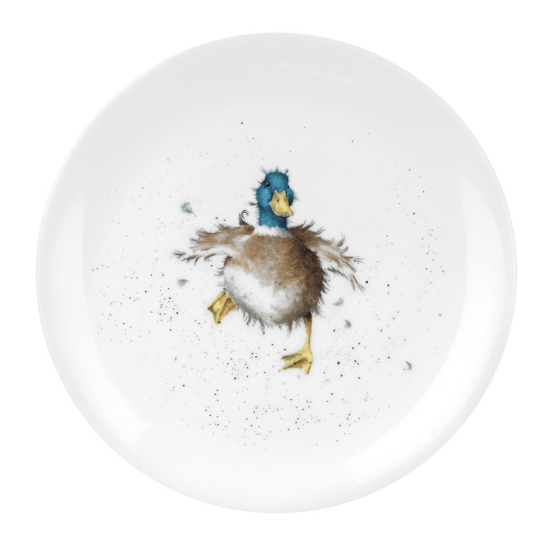 Wrendale Designs Coupe Tallrik - Waddle and a Quack (Duck) 20cm