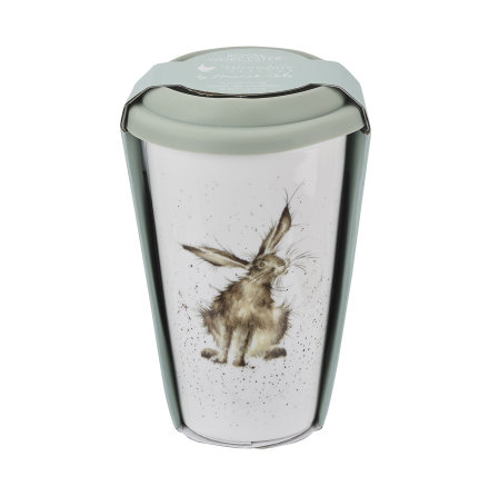 Wrendale Design To Go Mugg  (Hare) 31cl