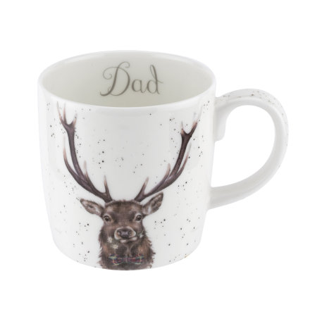 Wrendale Designs Mugg Dad (Stag) 0.40L