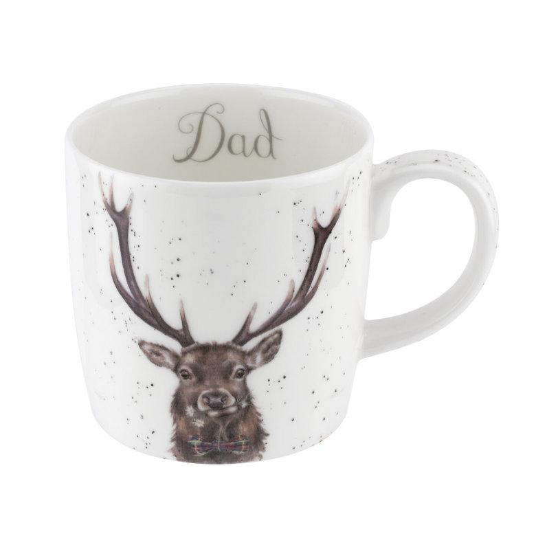 Wrendale Designs Mugg Dad (Stag) 0.40L