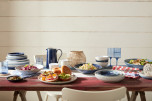 Studio Blue Flint Pastatallrik 22cm
