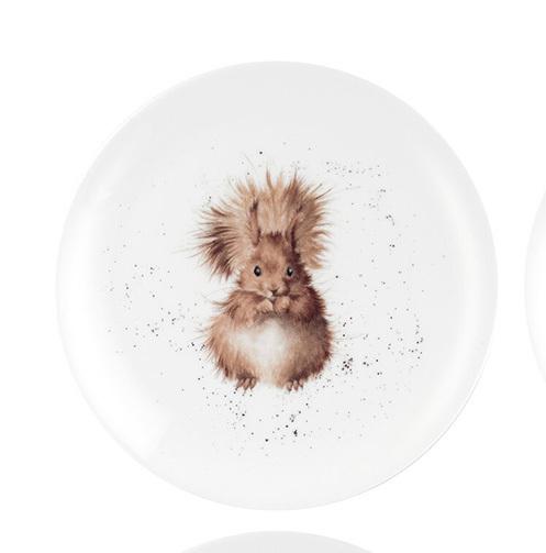 Wrendale Designs Coupe Tallrik - Squirrel 20cm