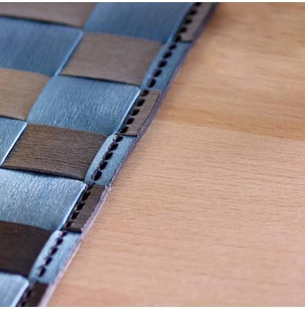 Bordstablett Gråblå Ränder 30x40cm