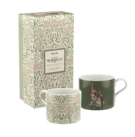 Morris & Co Muggar 2-pack Forest Hare & Michaelmas Daisy 0.34L