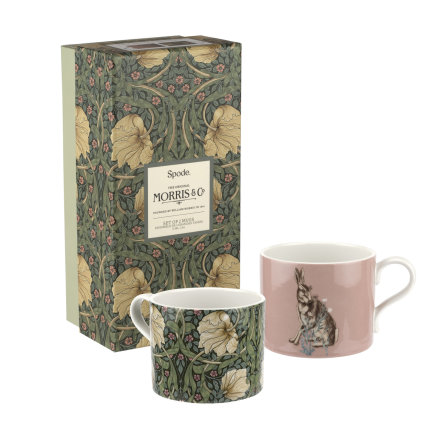 Morris & Co Muggar 2-pack Pimpernel & Forest Hare 0.34L