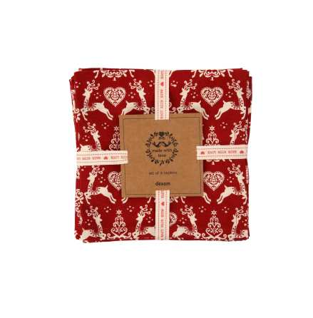 Yuletide Servetter 4-pack 40x40cm