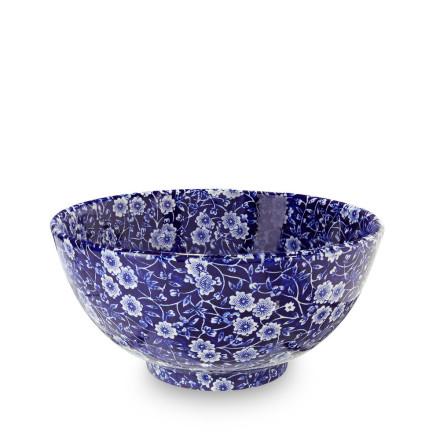 Blue Calico Chinese Skål 20cm