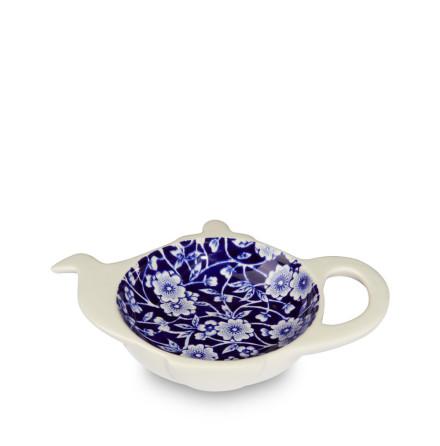 Blue Calico Tea Bag Tidy