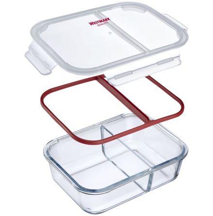 Matlåda i glas, 2-delad, 570 ml