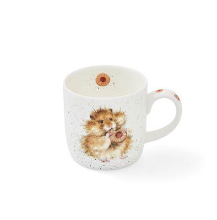 Wrendale Designs Mugg Diet Starts Tomorrow (Hamster) 0.31L