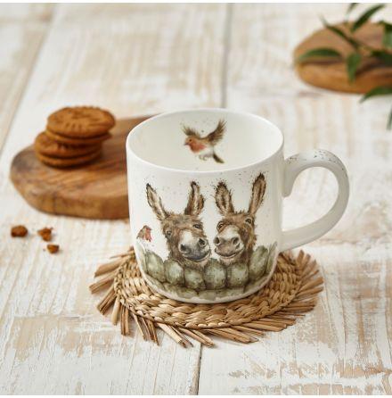 Wrendale Designs Mugg Hee Haw (donkey) 0.31L