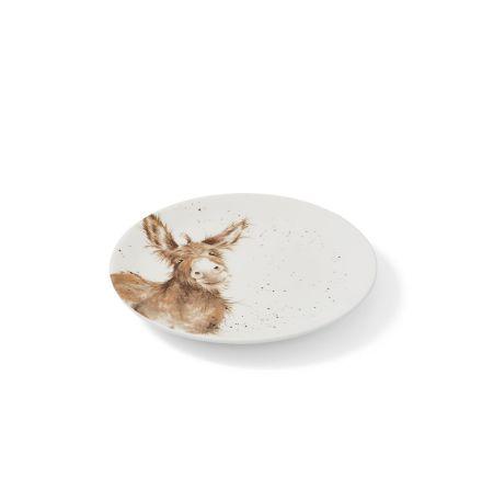 Wrendale Designs Tallrik 4-pack (Donkey, Duckling, Cow, Sheep) 16.5cm
