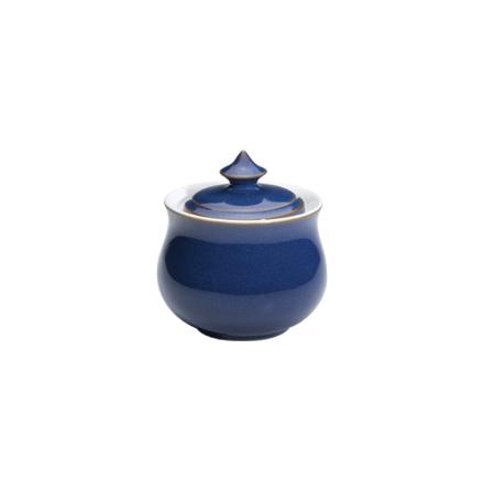 Imperial Blue Sockerskål med lock