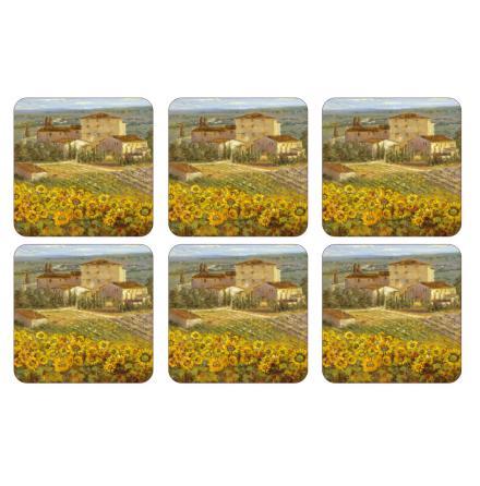 Tuscany Glasunderlägg 6-pack