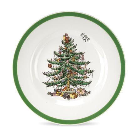 Christmas Tree Assiette