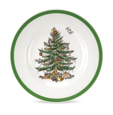Christmas Tree Assiette
