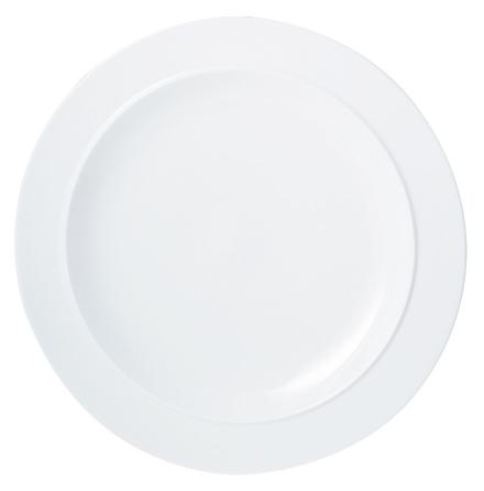 White Gourmettallrik