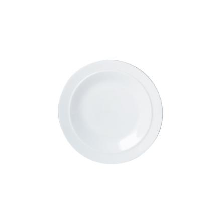 White Assiette