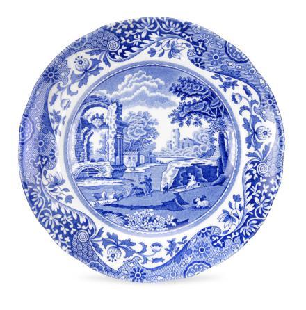 Blue Italian Assiett