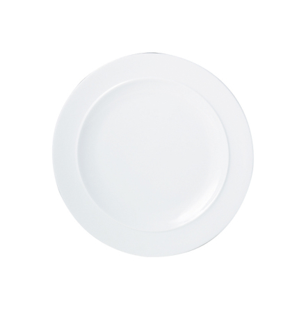 White Desserttallrik
