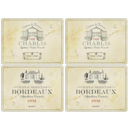Vin de France Placemats 4-p