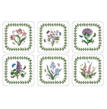 Botanic Garden Glasunderlägg 6-pack