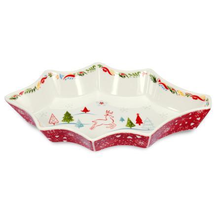 Christmas Wish Holly Dish