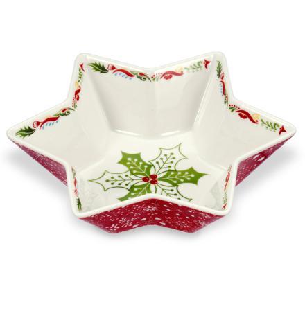 Christmas Wish Deep Star Dish