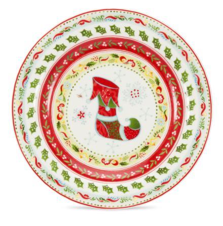 Christmas Wish Assiette (so)
