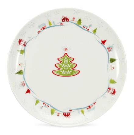 Christmas Wish Side Tallrik (so)