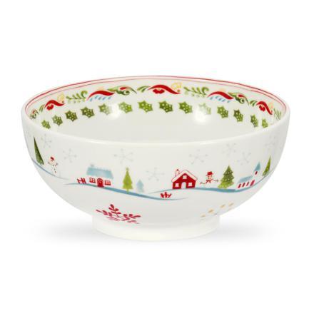 Christmas Wish Cereal Bowl (so