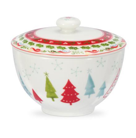 Christmas Wish Sockerskål med lock