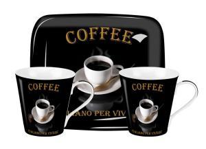 Café Italiano Mugg & Brickset