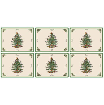 Christmas Tree Bordsunderlägg 6-pack