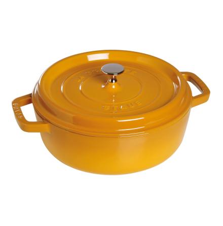 Cocotte rund 26cm with steamer