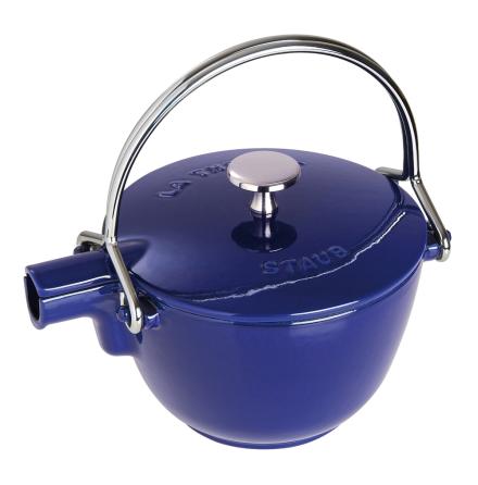 Teapot / Kettles rund blå