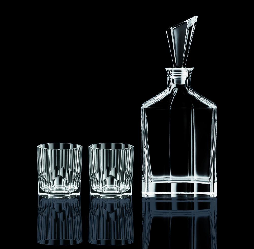 Aspen Karaff med 2st Whiskyglas
