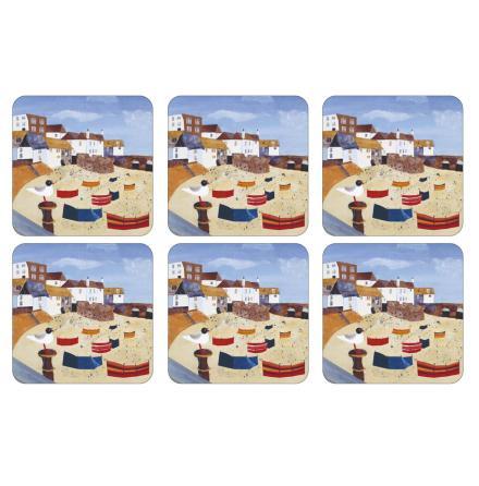 St Ives Windbreak Glasunderlägg 6-pack