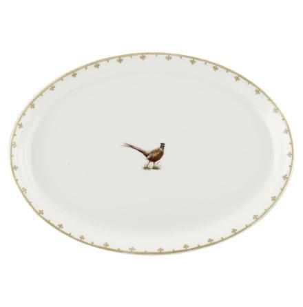 Glen Lodge Pheasant Oval Platt