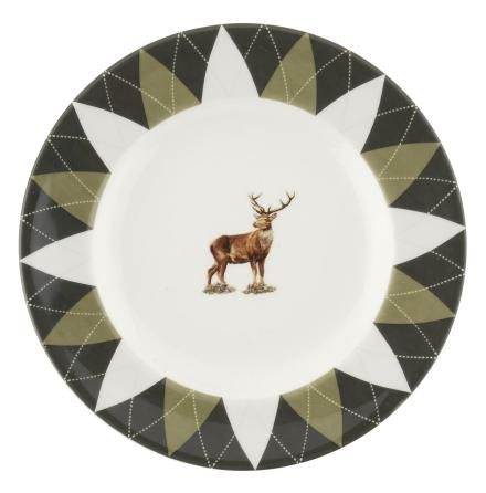 Glen Lodge Stag Plate 15cm