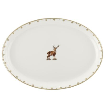 Glen Lodge Stag Oval Platter 3
