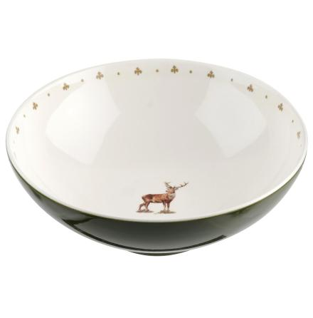 Glen Lodge Stag Salad Bowl 24c
