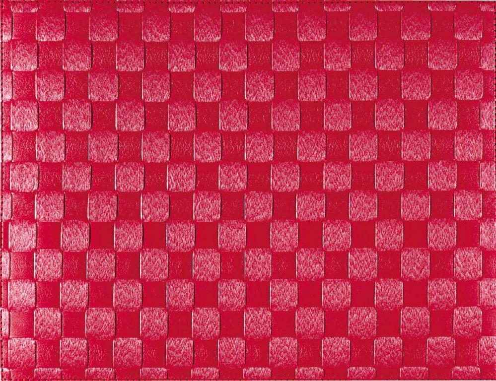 Bordstablett Rubinröd
