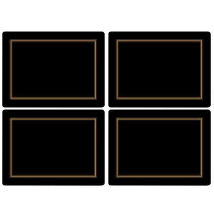 Classic Black Bordsunderlägg 4-pack