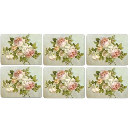Antique Rose Bordsunderlägg 6-pack